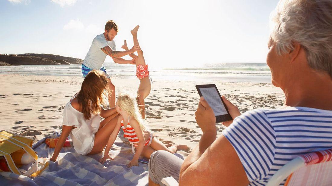 What is an annuity family having fun at the beach