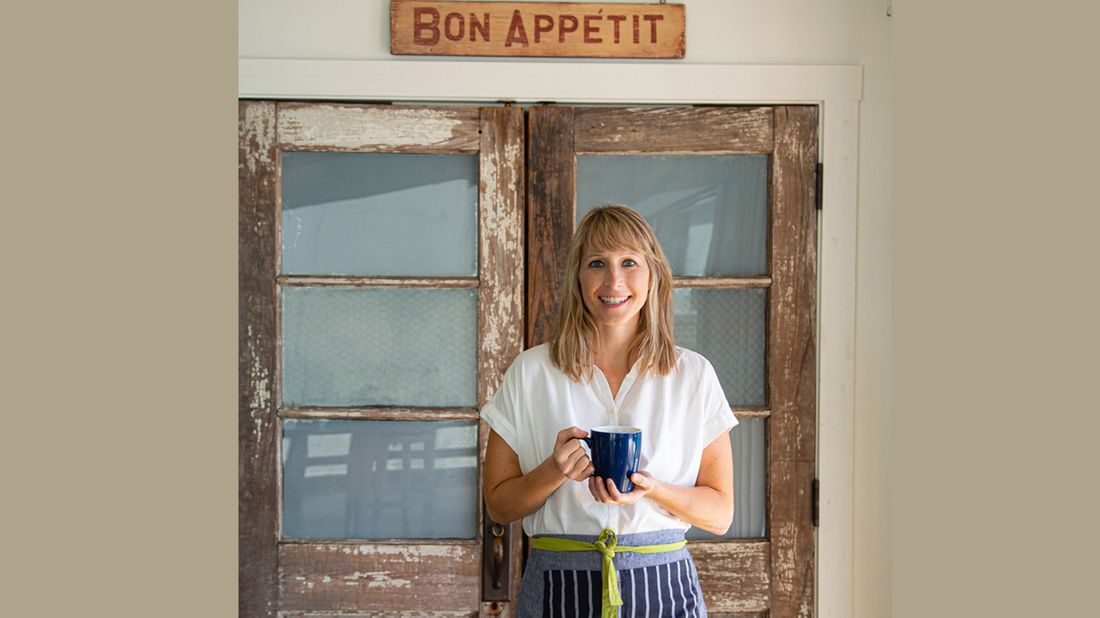 Buttermilk Kitchen owner Suzanne Vizethann