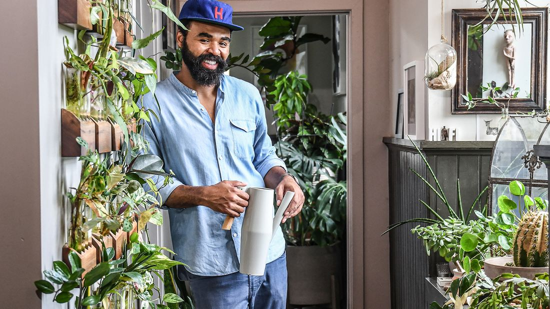 Plant stylist Hilton Carter discusses how he took control of his financial life.
