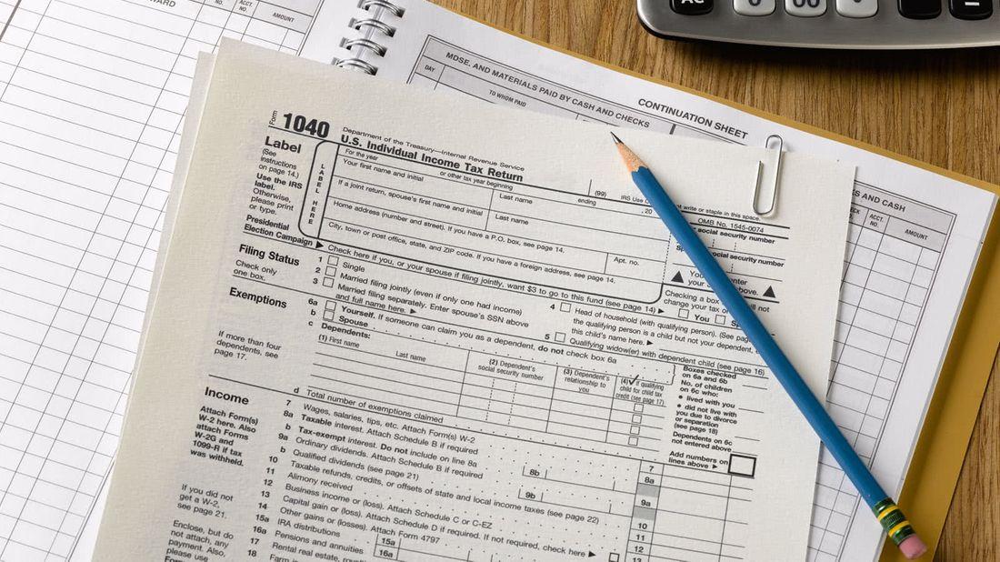 1040 tax form after the new Senate Tax Plan