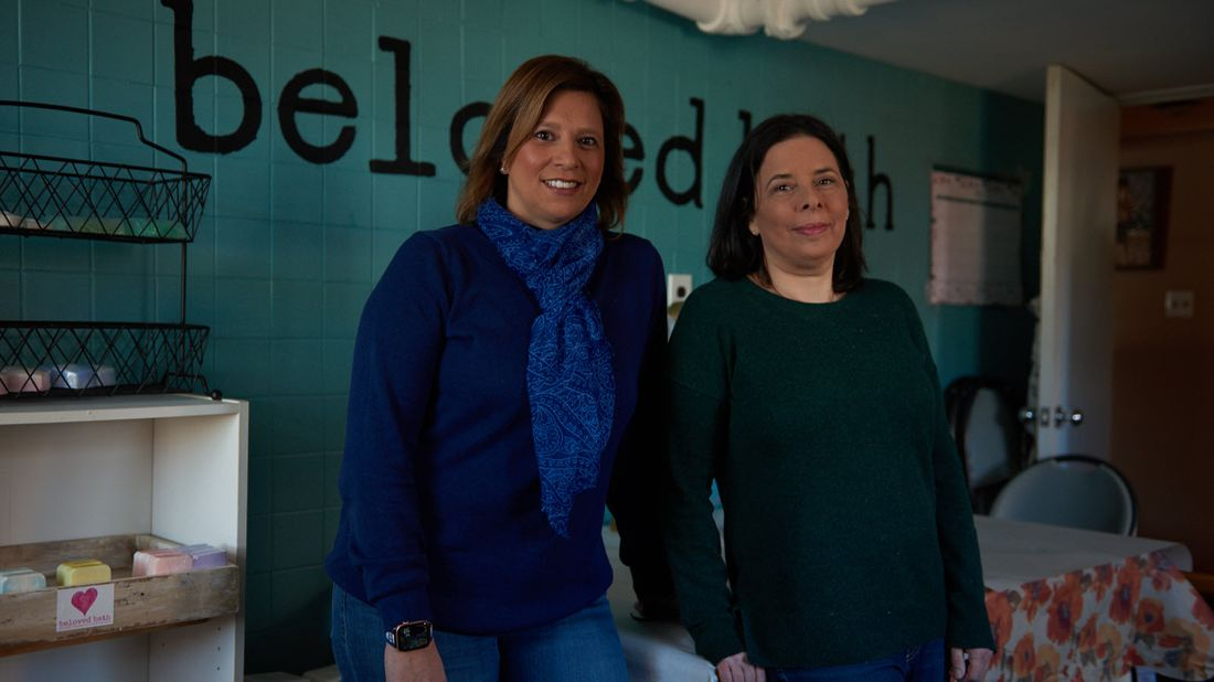 Beloved Bath owners Pat Miller and Pam Kattouf