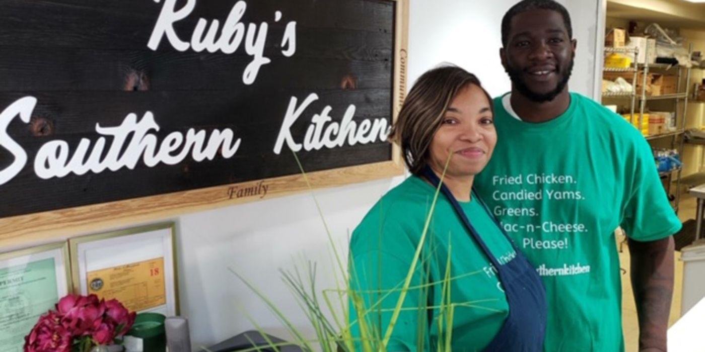 Candi and Jason Dailey at Ruby's Southern Kitchen