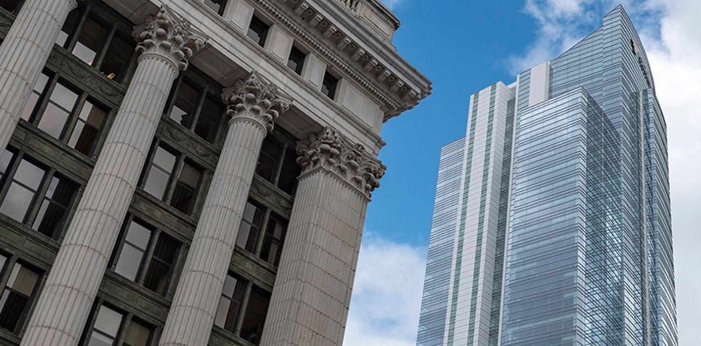 The Northwestern Mutual tower in Milwaukee.