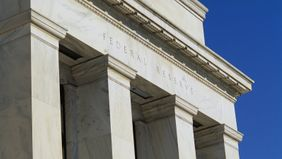 Columns of the Federal Reserve building