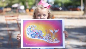 Northwestern Mutual's Rose Parade Float To Help Fight Childhood Cancer