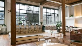 The riveter co-working space.