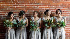 A bridal party.