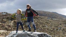 kids traveling in Ireland