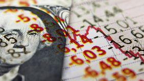 U.S. currency alongside financial figures.