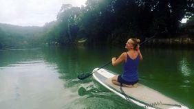 Lauren Kubik in Loboc, Philippines