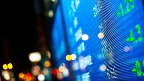 stock trading screen.