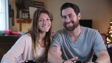 CrossFit business owners and Northwestern Mutual Clients Courtney and Chase