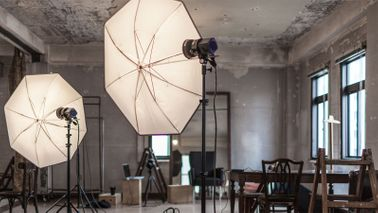 Financial confidence to build a business photo studio
