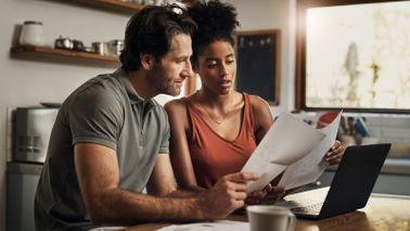 Couple looking for quick ways to cut costs from budget