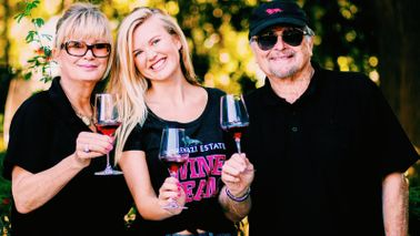The Lorenzi family at Lorenzi Estate Vineyards