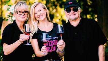 The Lorenzi family at Lorenzi Estate Vineyards