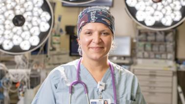 Nurse Alexandra Olinsky
