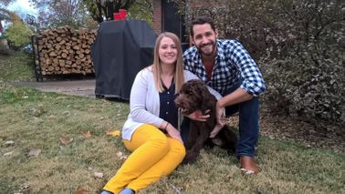 Couple who wiped out $90k in student loans with their dog