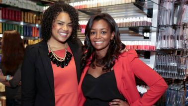 Founder of Swivel in her store which is now a successful business