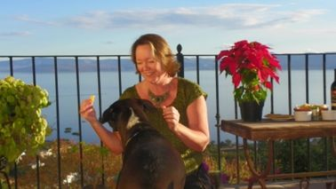 Woman who paid off debt by house sitting with a dog