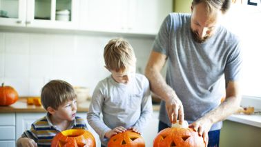 a family improves finances in october