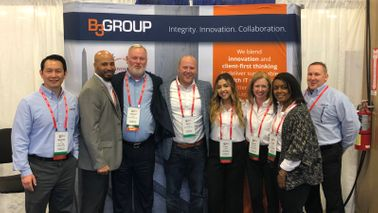 B3 Group employees at a recent event