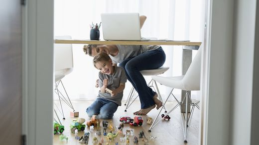 8 Productivity Hacks For Working From Home With Kids Northwestern Mutual