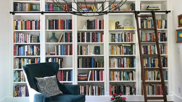 Anne Bogel's home library