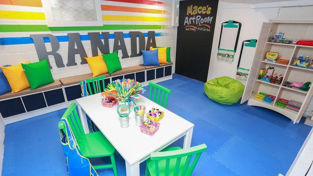 Ranada family art room