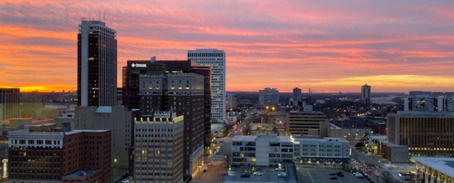 Tulsa city skyline