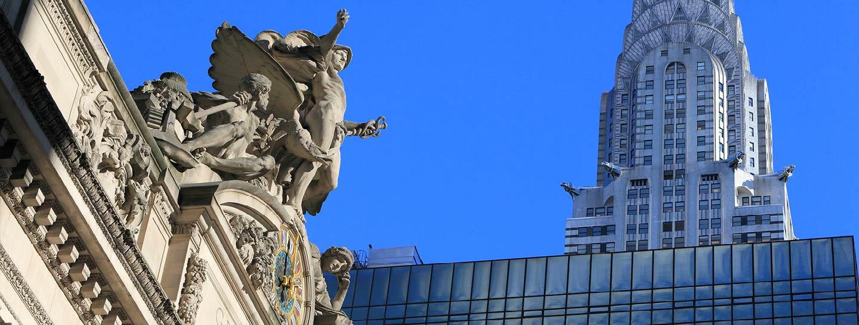 Park avenue statue